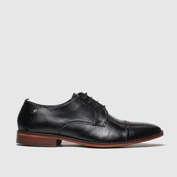 Base London Black Trailer Mens Shoes