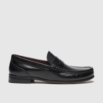 Base London Black Cassio Mens Shoes