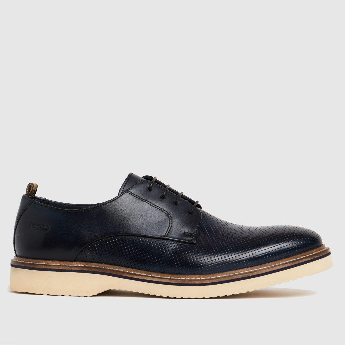Base London Navy Grady Shoes