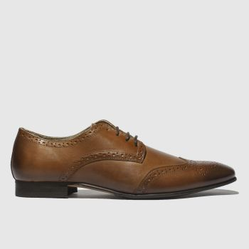 Schuh Tan Robinson Brogue Mens Shoes