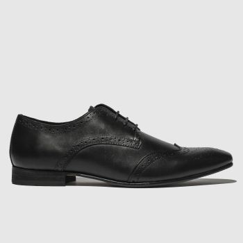 Schuh Black Robinson Brogue Mens Shoes