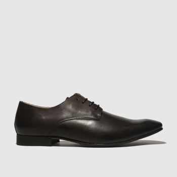 Schuh Dark Brown Foxton Gibson Mens Shoes