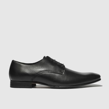 Schuh Black Foxton Gibson Mens Shoes