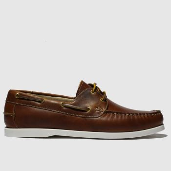 schuh Brown Cannes Mens Shoes