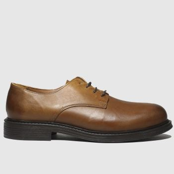 schuh Tan Broseph Gibson Mens Shoes