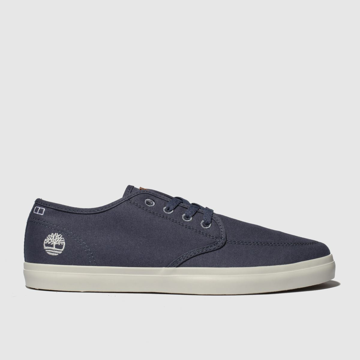 Timberland Navy Union Wharf Derby Sneaker Shoes