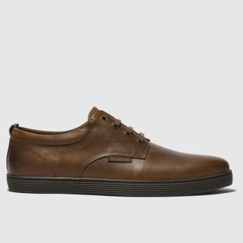 ebe4583225fa Red Or Dead Brown Mr Hickling Low Mens Shoes