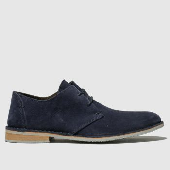 Ikon Navy Franklin Desert Mens Shoes