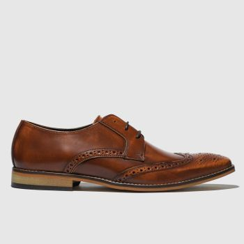 Ikon Tan Ramsay Brogue Mens Shoes