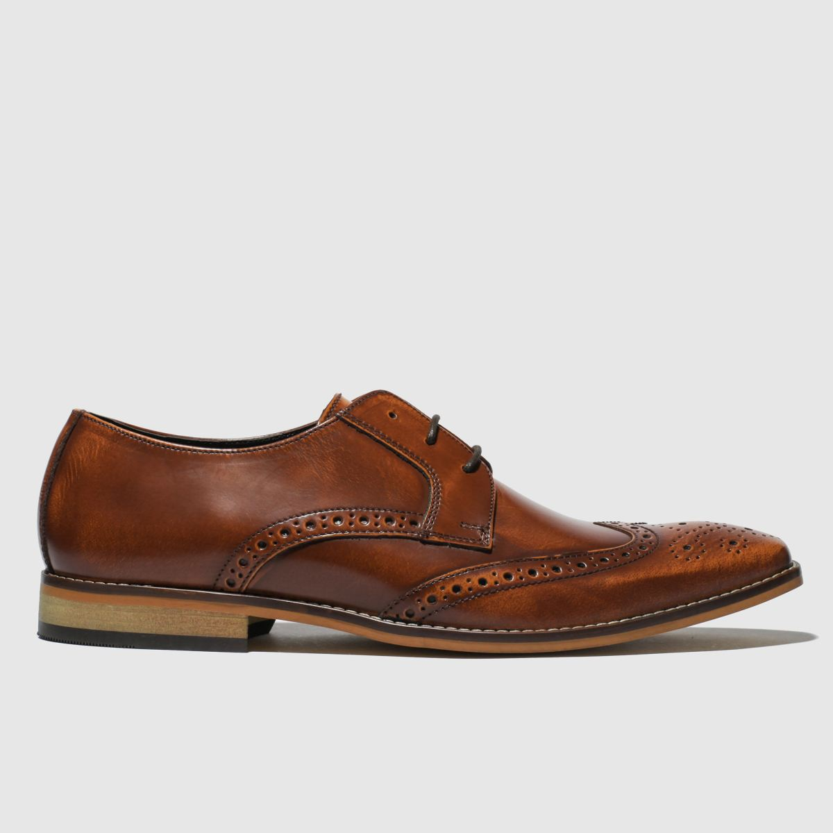 Ikon Tan Ramsay Brogue Shoes