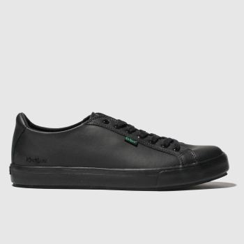 Kickers Black Tovni Lacer Mens Shoes