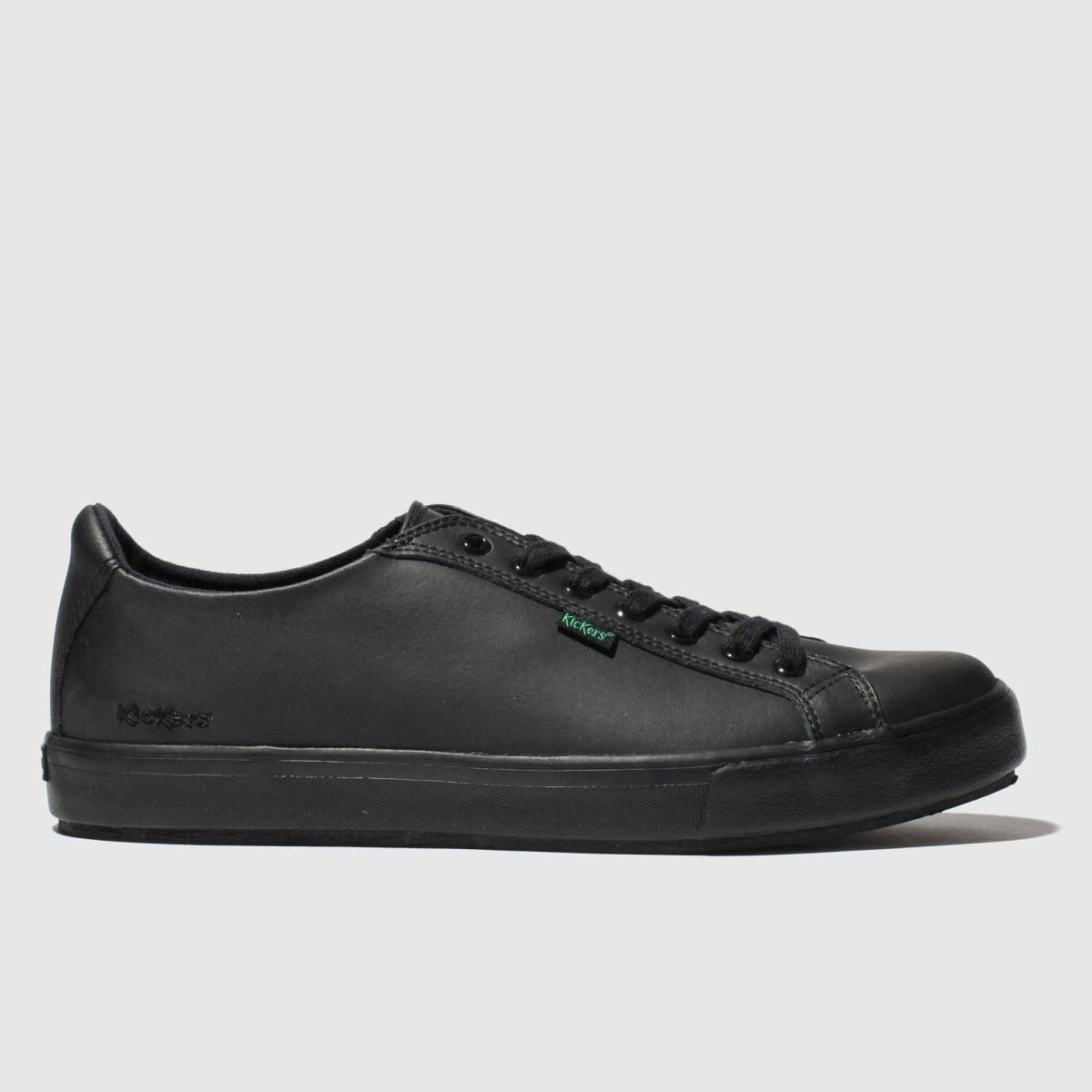 Kickers Black Tovni Lacer Shoes