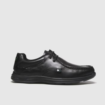 Kickers Black Reasan Lace Mens Shoes