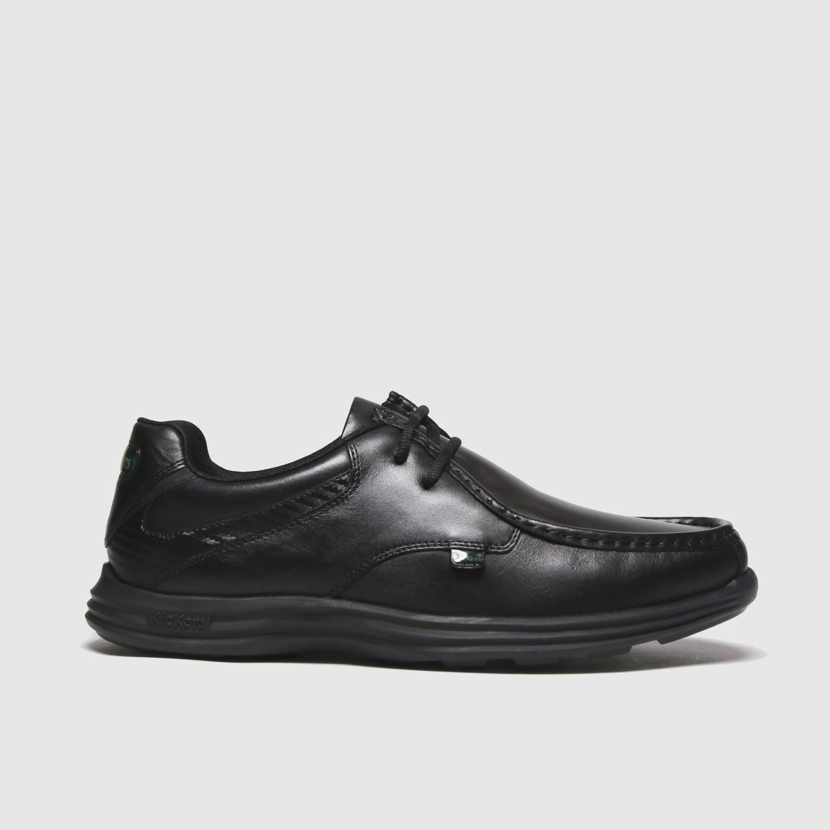 Kickers Black Reasan Lace Shoes