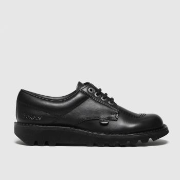 Kickers Black Kick Low Mono Mens Shoes