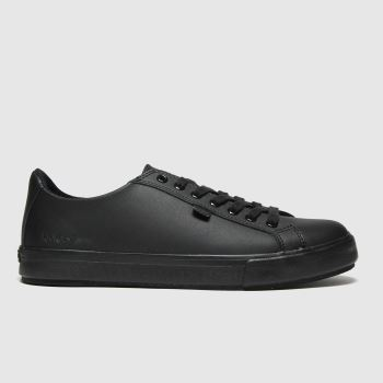 KicKers Black Tovni Lacer Mono Mens Shoes
