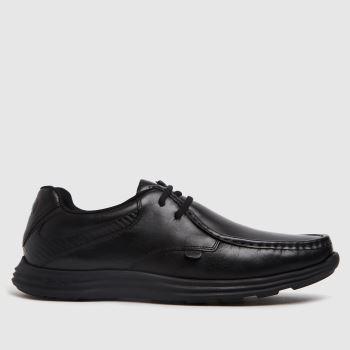 Kickers Black Kick Reasan Lace Mens Shoes