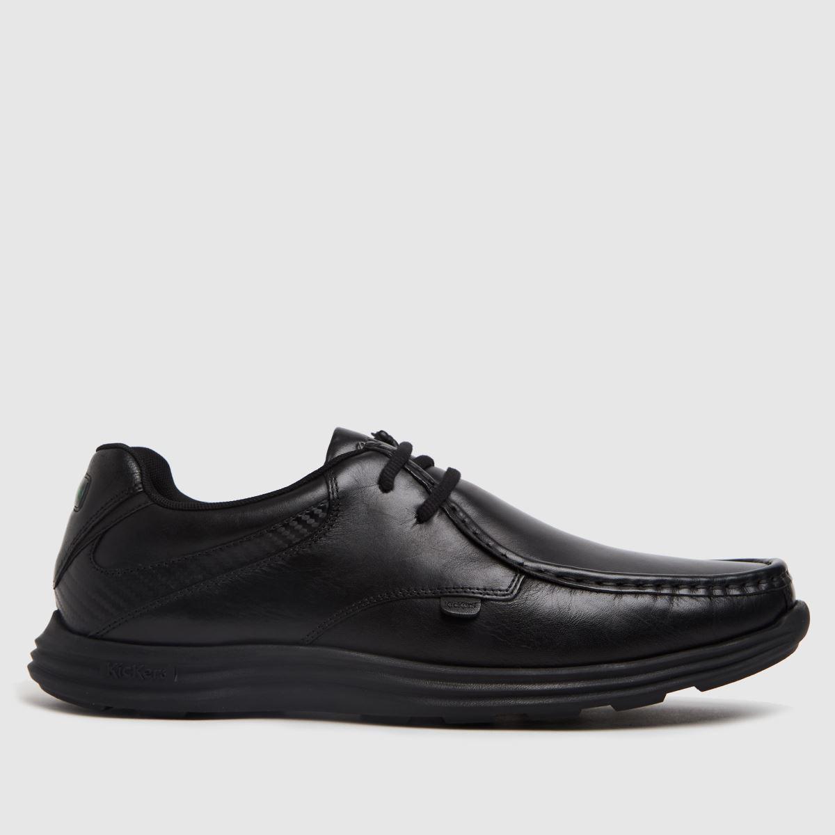 Kickers Black Kick Reasan Lace Shoes
