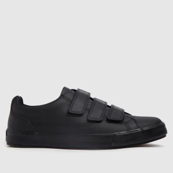 Kickers Black Tovni Trip Mens Shoes