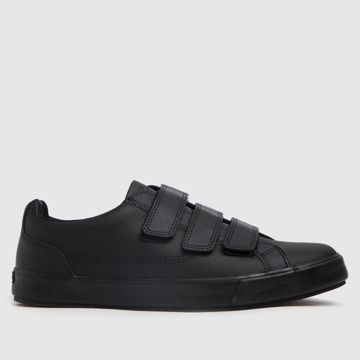 Kickers Black Tovni Trip Shoes