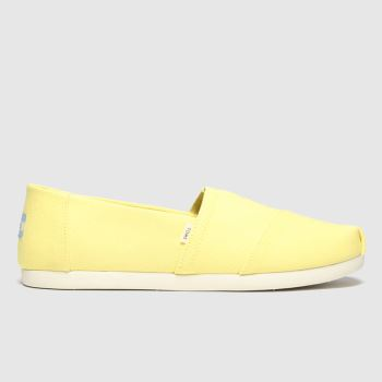 TOMS Yellow Alpargata 3.0 Mens Shoes