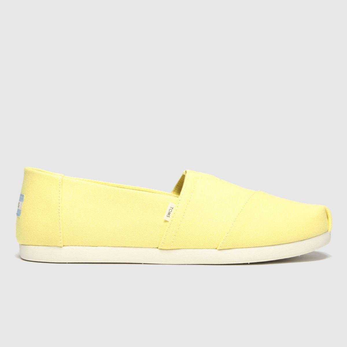 Toms Yellow Alpargata 3.0 Shoes