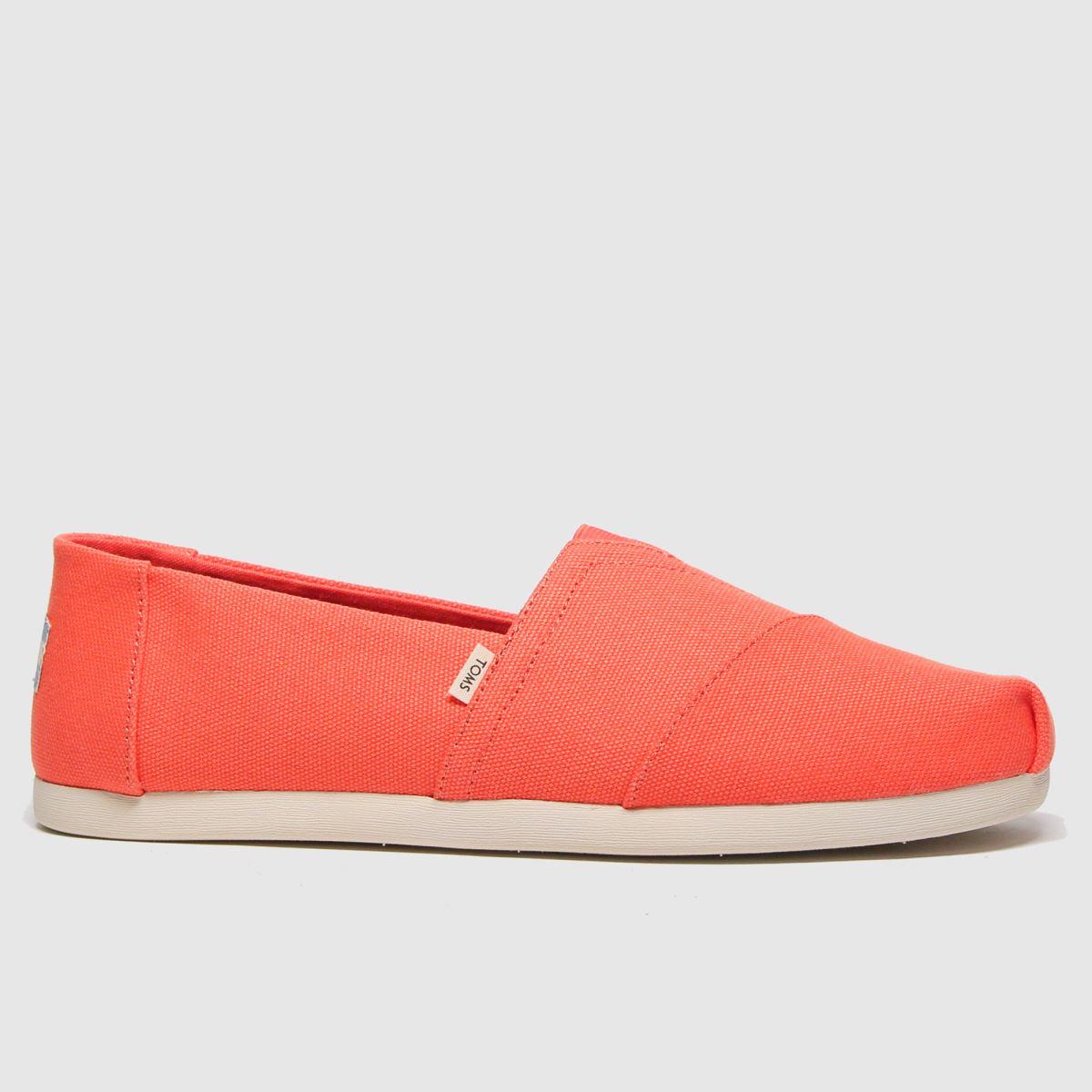 Toms Orange Alpargata 3.0 Shoes