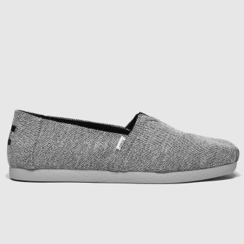 TOMS Black Alpargata 3.0 Repreve Mens Shoes
