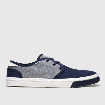 Toms Navy Carlo Mens Shoes