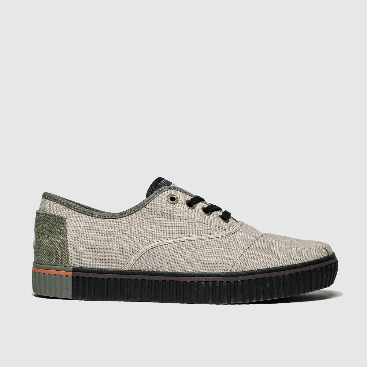 Toms Stone Cordones Indio Shoes
