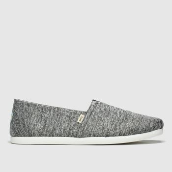Toms Grey Alpargata Repreve Mens Shoes