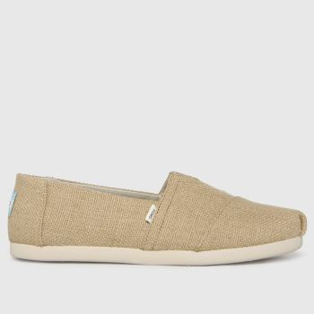 TOMS Natural Alpargata 3.0 Vegan Mens Shoes