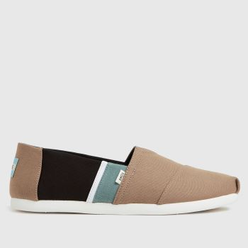 TOMS Stone Alpargata 3.0 Vegan Mens Shoes