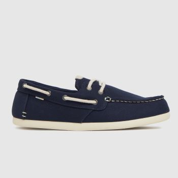 TOMS Navy Claremont Mens Shoes
