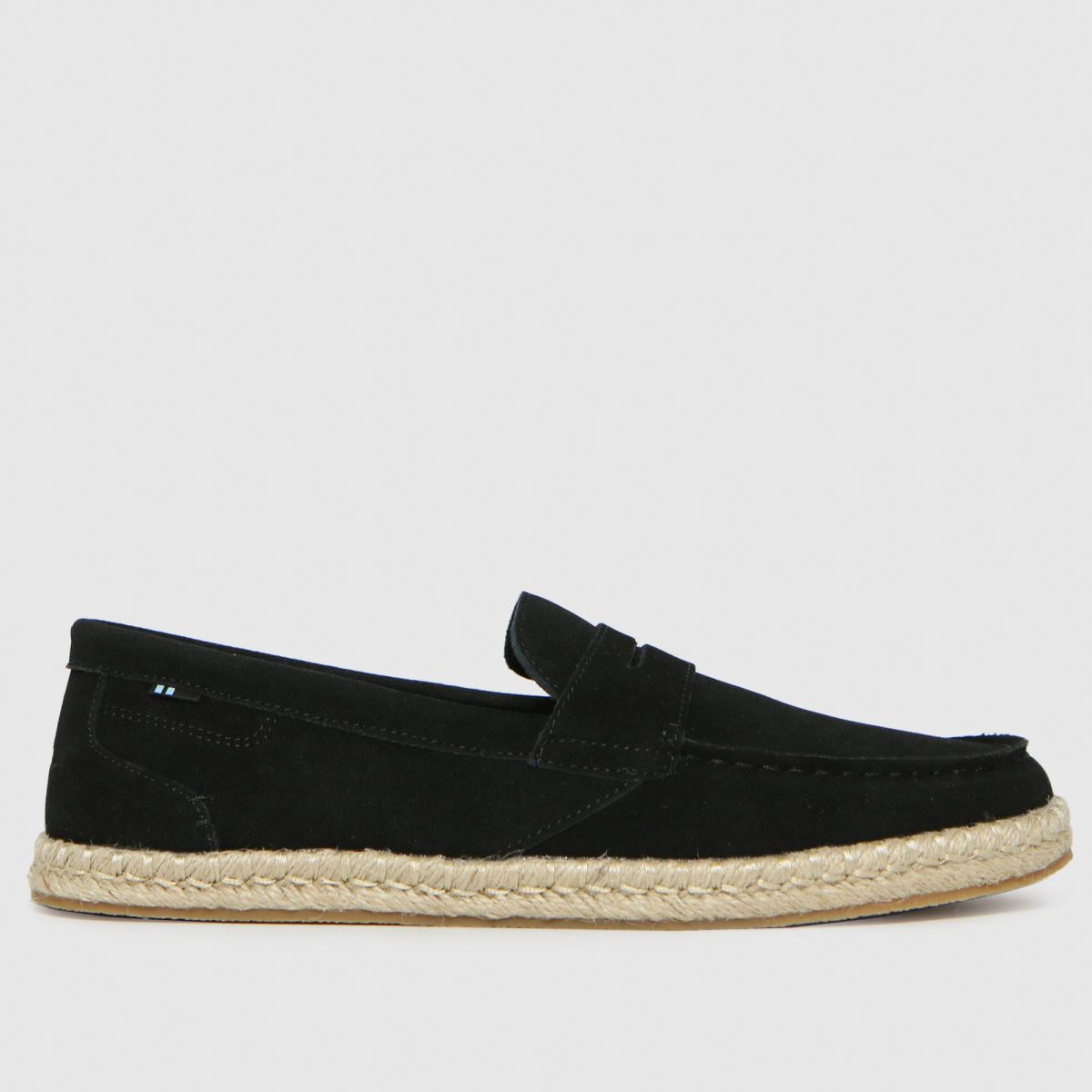 TOMS Black Stanford Rope Shoes