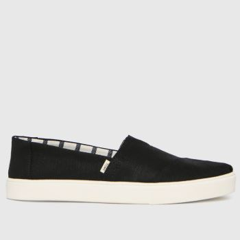 TOMS Black Alpargata Cupsole Vegan Mens Shoes