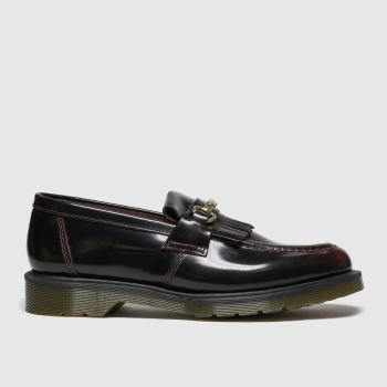 Dr Martens Burgundy Adrian Snaffle Mens Shoes