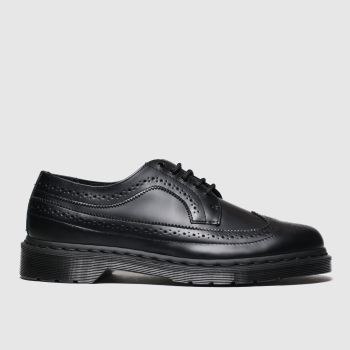 Dr Martens Black 3989 Mono Mens Shoes