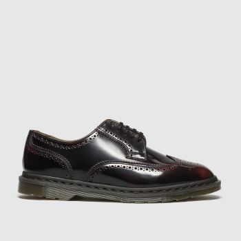 Dr Martens Burgundy Kelvin Ii Mens Shoes