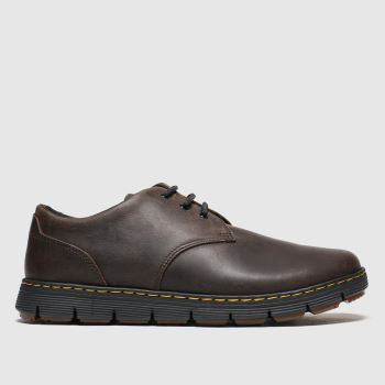 Dr Martens Brown Rhodes 3 Eye Mens Shoes