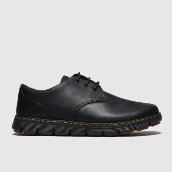 Dr Martens Black Rhodes 3 Eye Mens Shoes