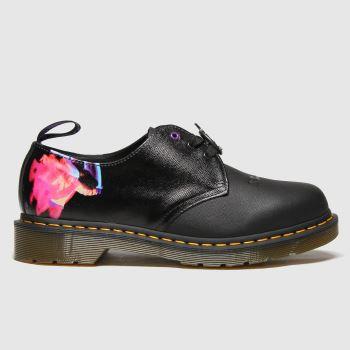 Dr Martens Black 1461 Black Sabbath Mens Shoes