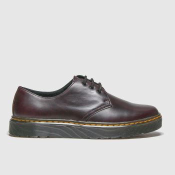 Dr Martens Burgundy Thurston Lo Mens Shoes