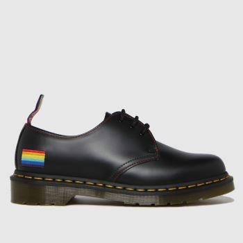 Dr Martens Black 1461 Pride Mens Shoes