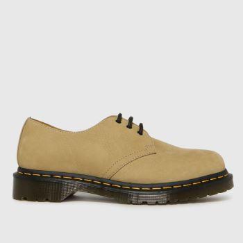 Dr Martens Tan 1461 3 Eye Mens Shoes