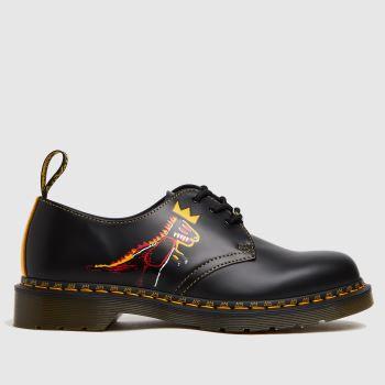 Dr Martens Black 1461 Basquiat Mens Shoes