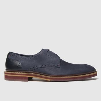 Ted Baker Navy Eizzg Mens Shoes