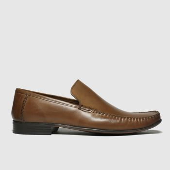 Schuh Tan Warwick Moccassin Mens Shoes
