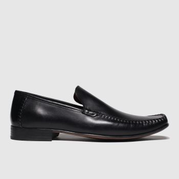 Schuh Black Warwick Moccassin Mens Shoes