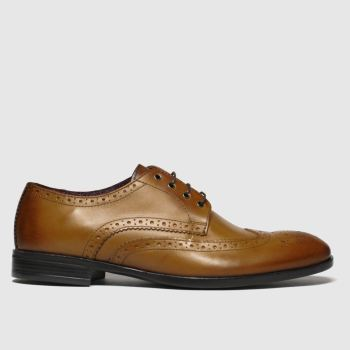 schuh Tan Brunel Brogue Mens Shoes